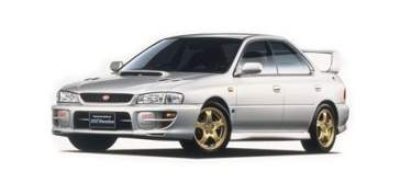 BC Racing Coilovers Subaru Impreza WRX STI