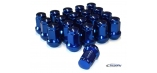 Titan Subaru Impreza Wheel Nuts Blue - Set of 20