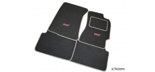 Anthracite with Grey Binding Tailor-made Car Mat Set for Subaru Impreza WRX & STI 1993-2019