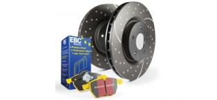 EBC Yellowstuff Front Discs and Pads Pack STI 2004-2007 Widetrack