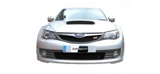 Zunsport BLACK Upper & Lower Grilles - Hatch STi 2008-2010 ZSU14507b