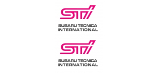 STi Style Sticker Set (Pair)