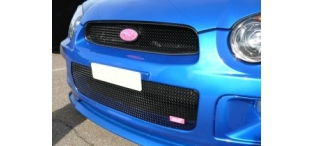 Zunsport Full Height Lower Grille BLACK Blobeye 2003-2005 WRX & STI ZSU12603B
