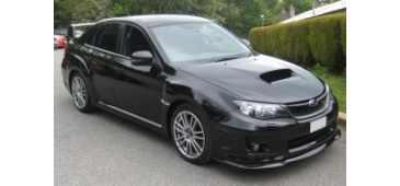 STi Style Lip Front Spoiler - Impreza Hatch/Saloon 11-13 Model