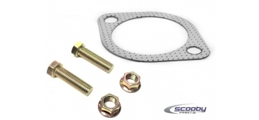 "2.5"" Exhaust Gasket and Bolt Set Rear Silencer / Backbox Gasket Subaru Impreza WRX & STI"