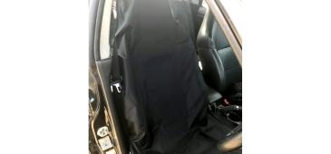 Airbag Compatible Seat Cover for Subaru Impreza, Legacy and Forester Plain Black