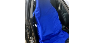 Airbag Compatible Seat Cover for Subaru Impreza, Legacy and Forester Plain Blue