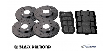 Black Diamond Discs and Pads Complete Pack - STI 2008-2019