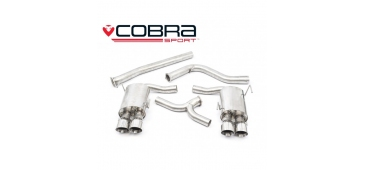 "Cobra Exhaust 3"" Cat Back Non-Resonated Subaru WRX / STI 2014> SU82H"
