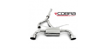 Cobra Exhaust Cat Back (Resonated) TY11 - Toyota GT86 / Subaru BRZ