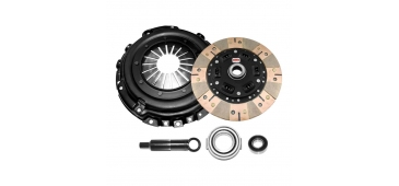 Competition Clutch 15029-2600 - Subaru WRX (2.0T 5-Speed Pull Style Clutch 230mm) - PERFORMANCE CLUTCH KIT - SCC Stage 3 - Segmented Ceramic