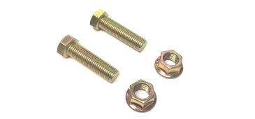 Exhaust Nut & Bolt Set for Rear Silencer / Backbox Gasket Subaru Impreza WRX & STI