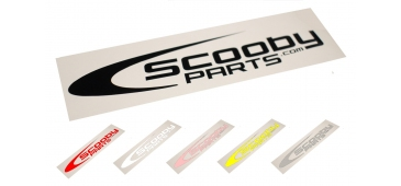 Scoobyparts Window Sticker - various colours and sizes