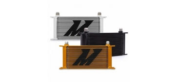 Mishimoto MMOC-19 - All Fitments - Universal 19-Row Oil Cooler