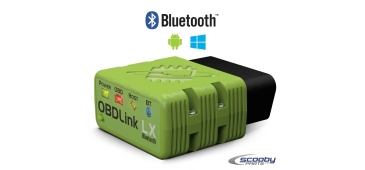 OBDLink® LX Bluetooth Scantool for Android and PC