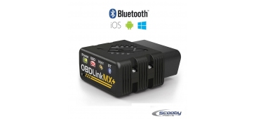 OBDLink® MX+ Bluetooth Scantool for iPhone, Android and PC