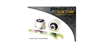 Powerflex Black Series - Antilift, Caster Adjustable Front Arm Rear Bush WRX/STI (PFF69-502GBLK)