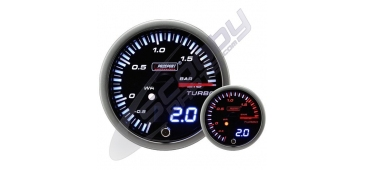 ProSport JDM Dual Stepper 52mm Gauge- Boost (BAR)