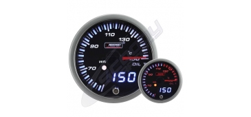 ProSport JDM Dual Stepper 52mm Gauge- Oil Temperature (°C)