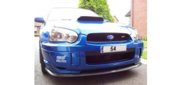 STi Style V Ltd Front Lip Spoiler - Impreza STi 03-05 Blob Eye Model