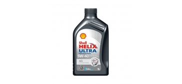 Shell Helix Ultra 5w 40 Fully Synthetic Engine Oil 1 Litre Top Up Bottle