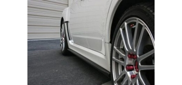 Side Skirt Extensions & Rear Lips 2008-2010 STI Hatchback