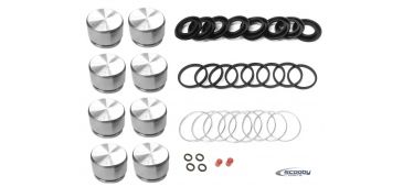 Subaru Impreza 1999-2007 Complete Front Brake Seal and Piston Kit