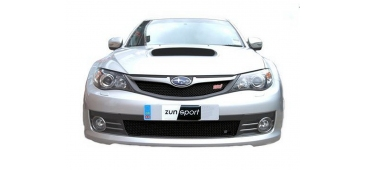 Zunsport BLACK Upper & Lower Grilles - Hatch STi 2008-2010