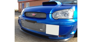 Zunsport Full Height Lower Grille POLISHED Blobeye 2003-2005 WRX & STI