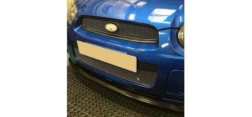 Zunsport Lower Grille POLISHED Blobeye 2003-2005 WRX & STI