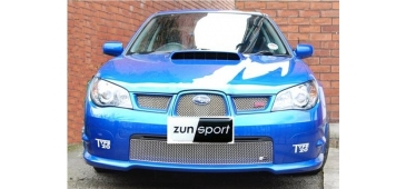 Zunsport POLISHED Stainless Steel Grilles - Top or Bottom - Hawk Eye Impreza 06-07 ZSU14006