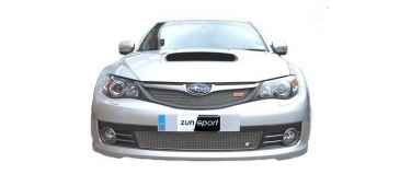 Zunsport POLISHED Upper & Lower Grilles - Hatch STi 2008-2010 ZSU14507