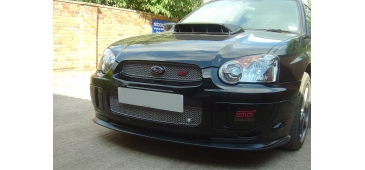 Zunsport Upper & Lower Grille Set POLISHED Blobeye 2003-2005 WRX & STI