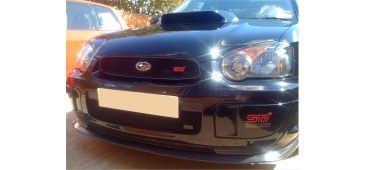 Zunsport Upper & Lower Grille BLACK Blobeye 2003-2005 WRX & STI