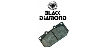 Black Diamond Predator Rear Brake Pads - Impreza Turbo, WRX, STi & P1 92-00