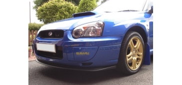 STI Style V Ltd Front Lip Spoiler - Impreza WRX 03-05 Blob Eye Model